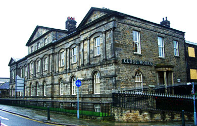 Globe Works, Sheffield, Building